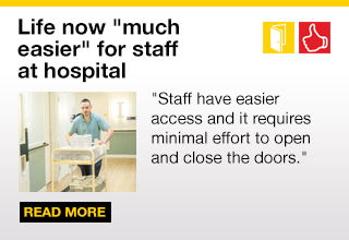 Royal Liverpool Hospital unblock corridors with Freedor